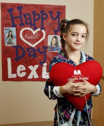 Lexie gets new heart