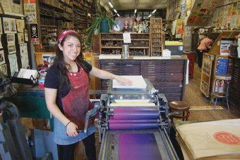 Heather Moulder's creative spirit | Heather Moulder, Ken Beck, Hatch Show Print