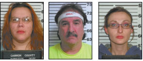 Multiple meth charges filled against trio | Meth, Sheriff's Department
