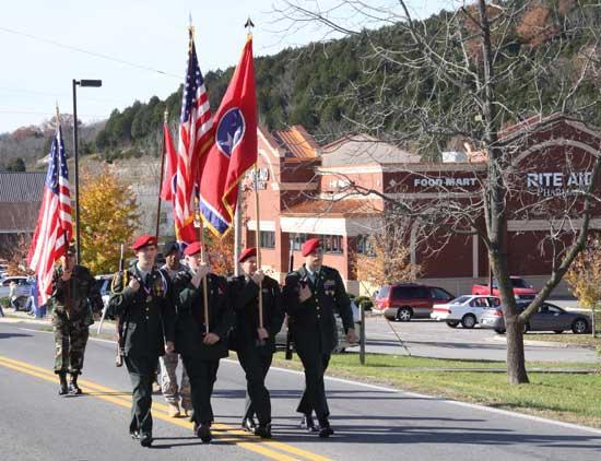 Veterans Day Parade Rolls Through Woodbury