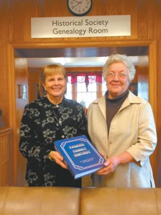 Parker family book published | Parker, Historical Society