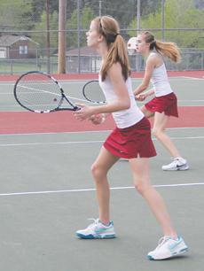 Netters finish in top half | tennis