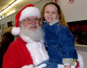 Santa Claus Visits Woodbury This Weekend