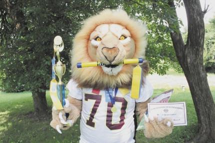 Leo's one of the best | Leo the Lion, CCHS mascot, Jeffrey Northcutt
