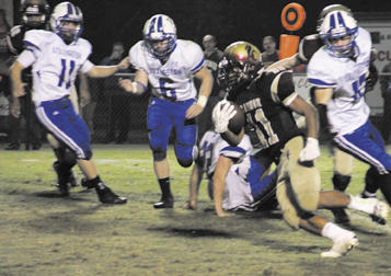 Lions fall to Livingston | CCHS Football, homecoming 2013