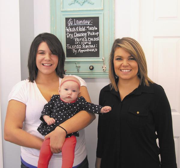 Baby J's the boss at new laundry | Baby J, Fann sisters, laundry