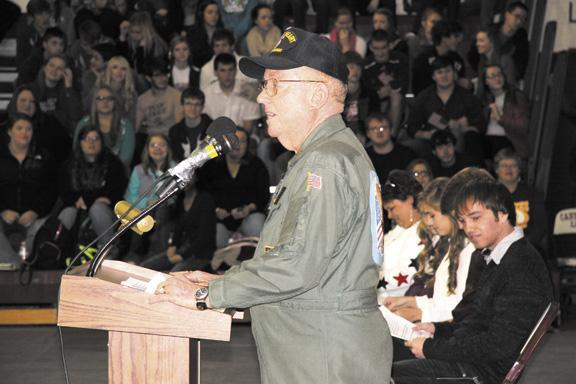 Cannon veterans honored | Veterans Day, 2013