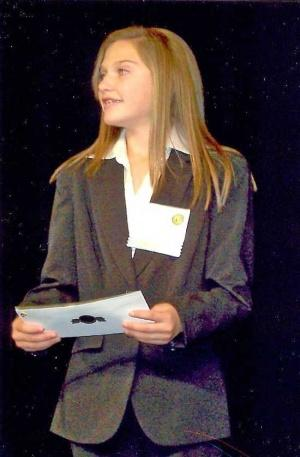 'Amazing Macy' Named Jr. Beta Club VP