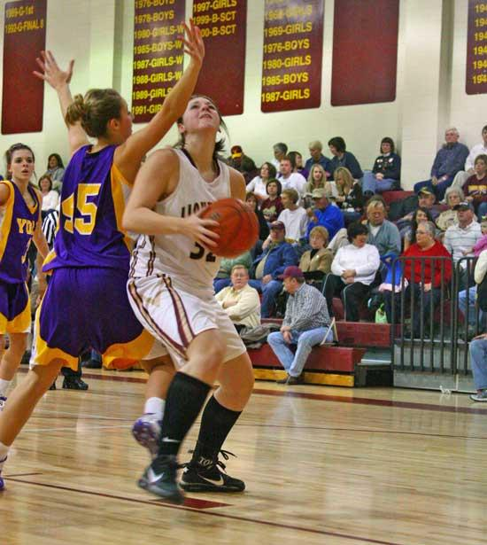 Lionettes, Lions Roll To Victory In District Openers