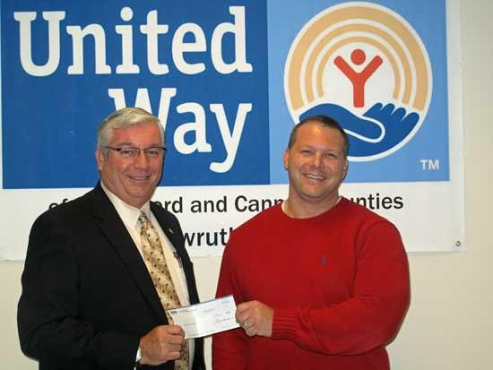 Vulcan Materials Makes Gift To United Way