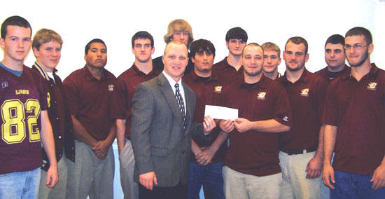 Football Lions Receive Touchdown Dollars From FNB