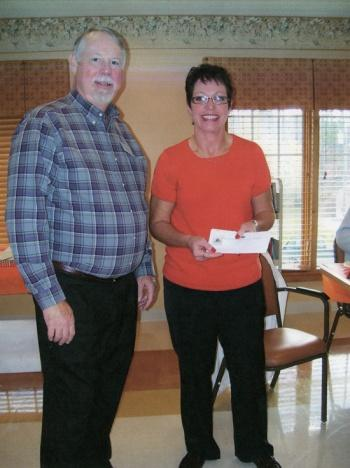 Campbell Honored As Care Giver Of The Year