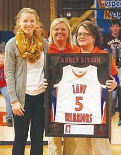 Sissom honored as jersey retired | Abbey Sissom