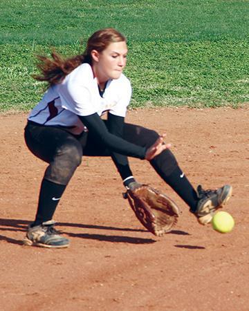 Lionettes turn back Central | Lionettes, softball, Central