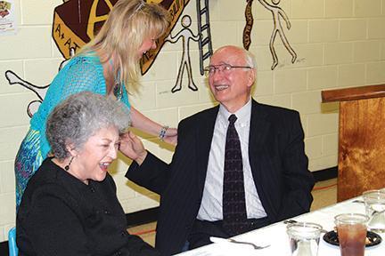 Laughter, tears flow at Harrell Roast | Charlie Harrell, Dell Harrell, Wayne Prater, Mary Lynn Bush, Jim Stone