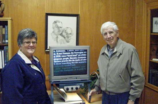 Adams Memorial Library Now Offers Support To Visually Handicapped