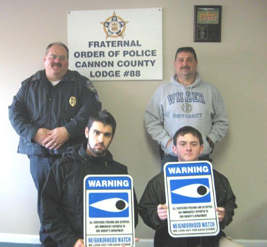 Explorer Post Helps Bradyville Community