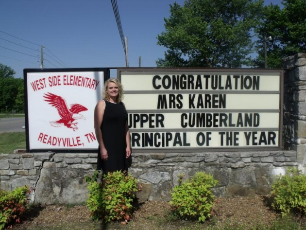 King named principal of the year