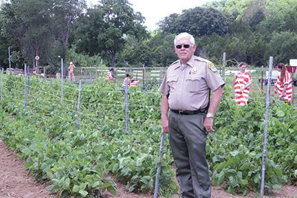 Secret garden grows | Sheriff Darrell Young, garden