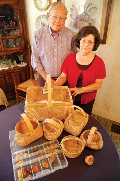Sue and Joe Daniel Davenport preserve heritage  | Joe Daniel Davenport, Sue Davenport, fishing lures, baskets