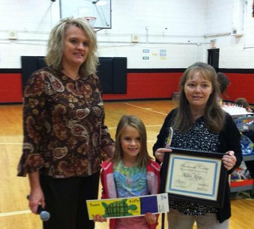 Addie King wins in bookmark contest   Addie King