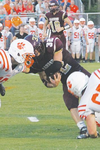 Cougars drill Cannon Co. 48-6 | CCHS football