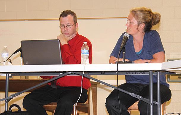 Gannon re-elected school board chair | School board, Stinnett, chairman elected.