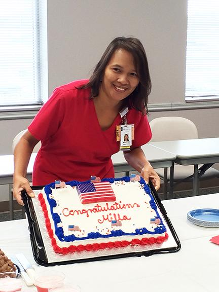 Mila celebrates U.S. citizenship | Vazquez