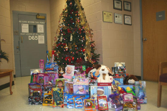 122 Toys Donated To Sheriff's Toy Drive