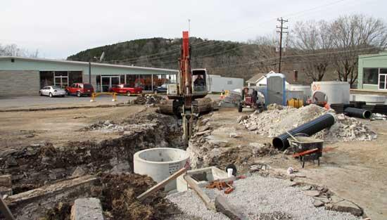 Water Woes Spring Up During Revitalization
