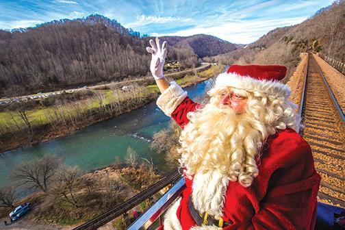Santa Train cheers kids of all ages | Santa Train