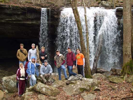 Cannon County High School Holiday Hike