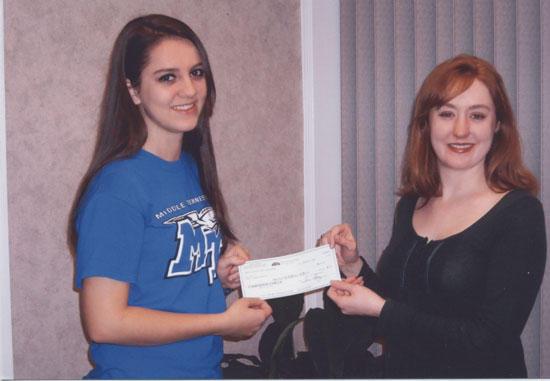 Glenn Scholarship Awarded To Susan Cawthorn
