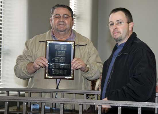 Recognized For Service To Cannon County