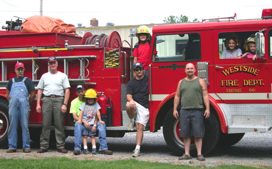 West Side VFD Will Be At Red Apple Days