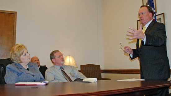 Cannon Leadership Visits Tennessee Leadership