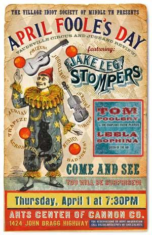 The Jake Leg Stompers April 1 At Arts Center