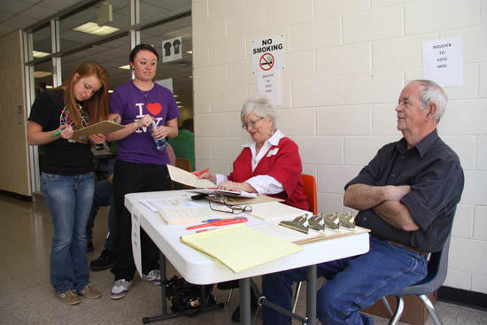 Election Commission Registers Young Voters At CCHS