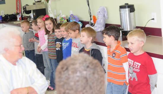 Woodbury Day School Students Strut Their Stuff At Senior Center