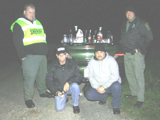 Traffic Stop Nets Rolling Meth Lab; Four Arrested
