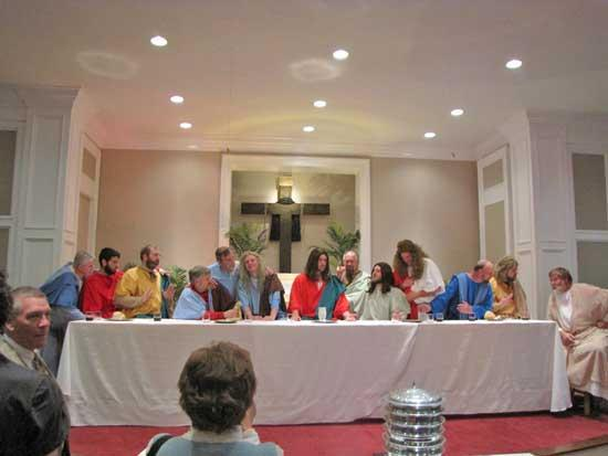 Living Lord's Supper Presented at FBC