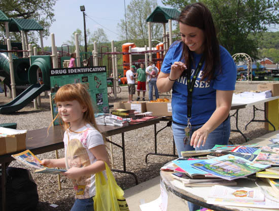 Information, Exercise The Focus Of Children's Health Fair