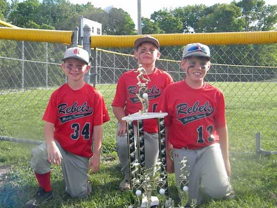 Cannon Co. Boys Win Baseball Championship
