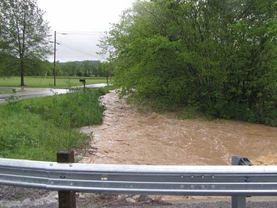 Water Rises In Cannon County
