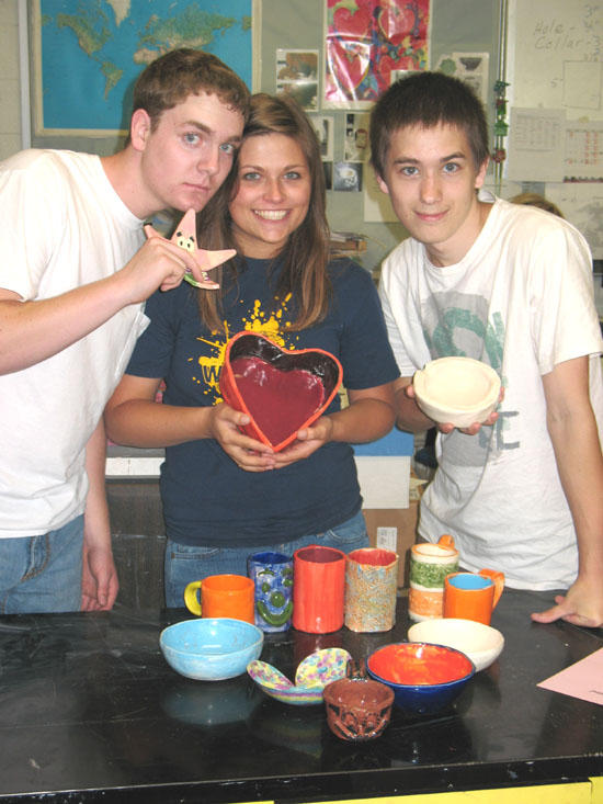 Pottery Students Join Relay For Life - 'Cooking for a Cure'