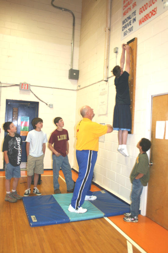 Woodland Students Climbing To New Heights