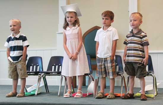Woodbury Day School Holds Graduation Program