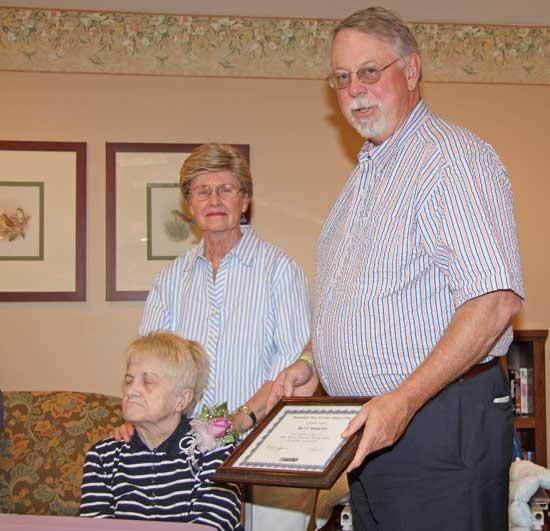 Retired Local Teacher Honored