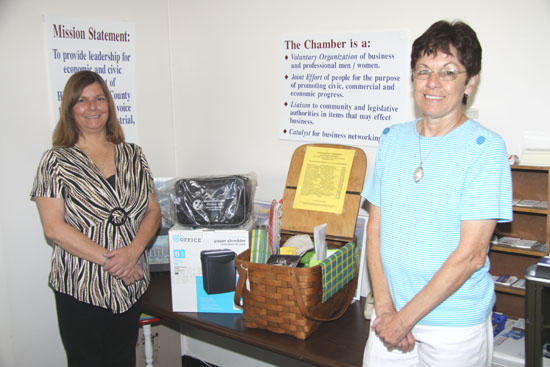 Williamson Wins Chamber Business Basket