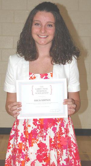 Fourth Larry Trail Memorial Scholarship Awarded